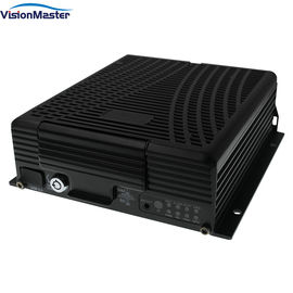 2TB HDD H.264 4 Channel 1080P Mobile DVR With Motion Detection Voltage Over Protection